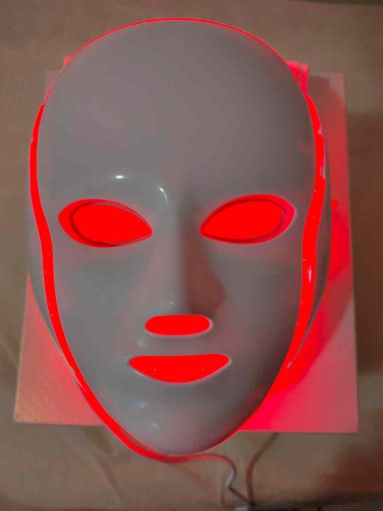 mascara led facial roja en murcia