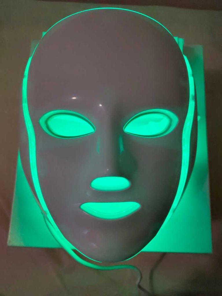 mascara led facial verde en murcia