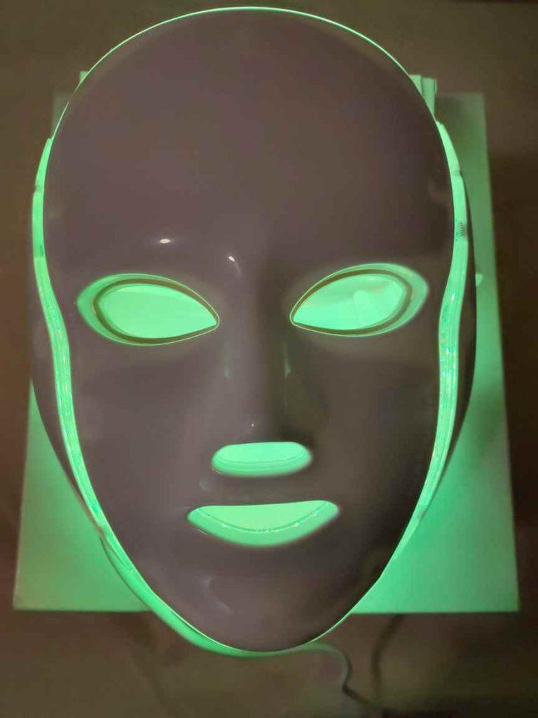 mascara led facial amarilla en murcia