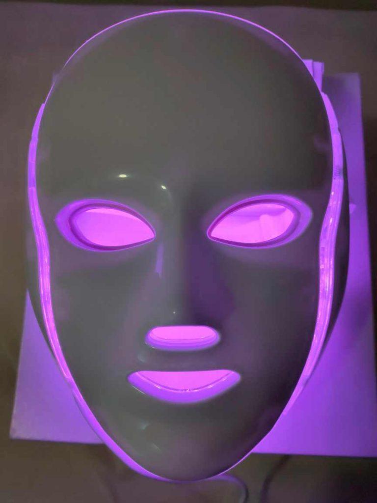 mascara led facial morada murcia